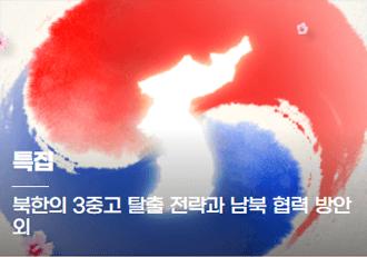 특집 - 북한의 3중고 탈출 전략과 남북 협력방안 외